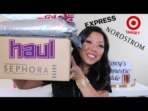Huge Sephora, Target, Nordstrom Haul | Try On