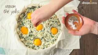 How to Make Spinach and Ricotta Pie