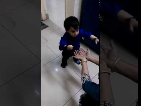 Babies Learning To Walk For The First Time