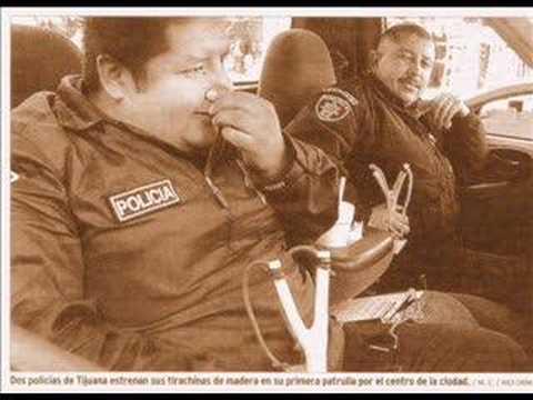 Envian a los policias Mexicanos a bajar de peso.