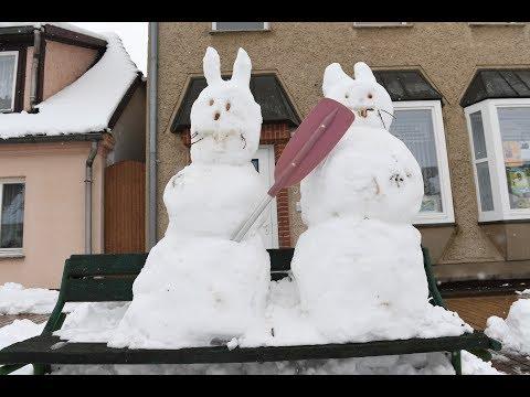Weiße Ostern: Rekord-Schneemengen sorgen für Chaos