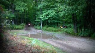 4. Moto enduro, water eau, sound 2 stroke, 2004 GAS-GAS EC 300 EXC KTM 2002
