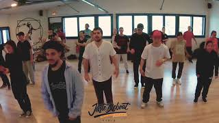 Greenteck – Juste Debout School – Popping workshop