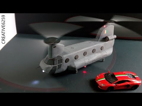 How To Make A Helicopter At Home...