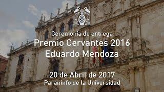 EDUARDO MENDOZA PREMIO CERVANTES 2016.