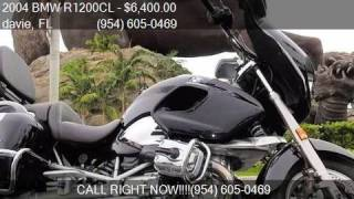 6. 2004 BMW R1200CL TOURING for sale in davie, FL 33314 at M.D.