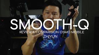 Is The Zhiyun Smooth Q DJI Osmo Mobile Killer? Full REVIEW 4K
