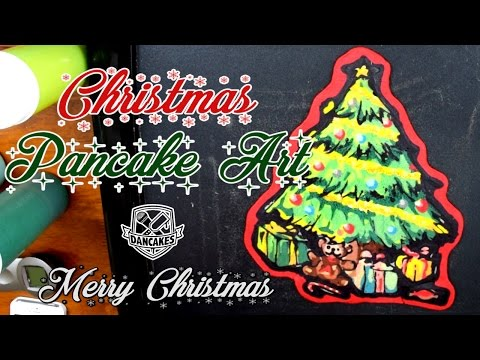 Christmas Pancake Art by Dancakes
