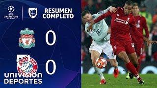 Liverpool 0-0 Bayern Münich - RESUMEN COMPLETO – IDA OCTAVOS DE FINAL – UEFA Champions League