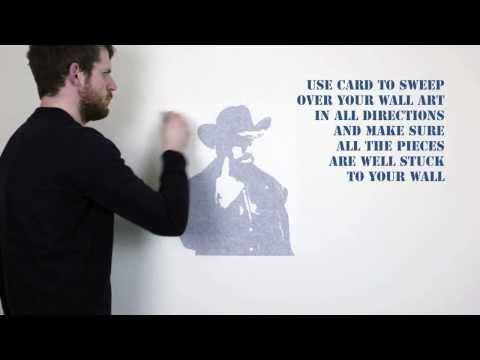 How To Apply A Vinyl Wall Art Decal – Vinyl Revolution