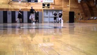 Bridgton Baseball Drills - Throw on the Run