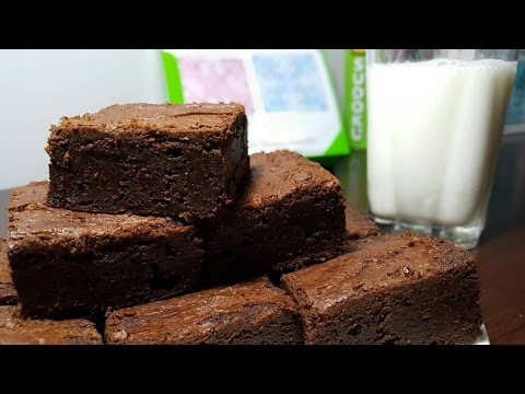 Decadent, fudgy, Chewy BROWNIES : HOW TO