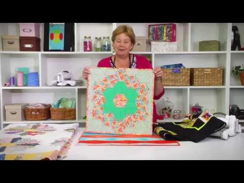 From the Sizzix Quilting Workshop: the Missouri Star Quilt Collection #1