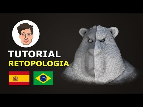 TUTORIAL Retopologia Blender