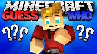 "Minecraft Guess Who! ""Dat Glitch Pick"" (Minecraft Modded Guess Who Mini-Game)"