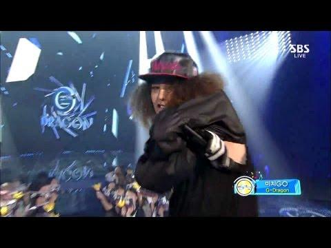 G-DRAGON_0908_SBS Inkigayo_COMEBACK_미치GO