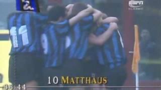 Lothar Matthäus trifft gegen Juventus