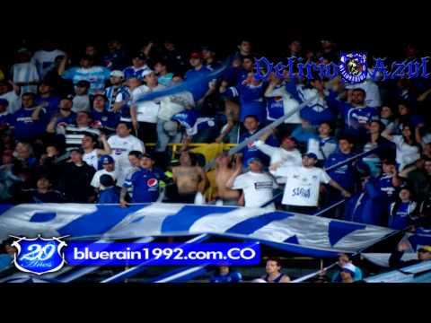 SOMOS LOS HINCHAS MAS ANARQUISTAS - Blue Rain - Millonarios