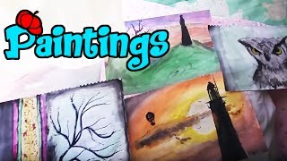 here are some oil paintings I did once upon a timeFeel free for become a Patreonhttps://www.patreon.com/cristyellaContact me on;https://www.facebook.com/PrincessWaffleBunny/https://twitter.com/ReideAbysshttps://www.instagram.com/cristy_ella/http://cristy-stars.tumblr.com/