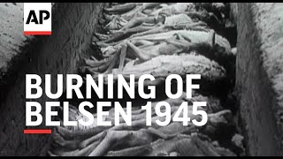 Nonton Burning Of Belsen   Harrowing Footage   1945 Film Subtitle Indonesia Streaming Movie Download