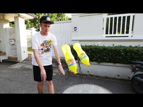 โยนขวดขั้นเทพ FLIP BATTLE!! [EP 1]   My Mate Nate