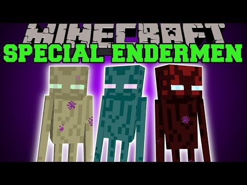special - This part of the Special Mobs Mod adds in tons of new unique Endermen! Enjoy the video? Help me out and share it with your friends! Like my Facebook! http://www.facebook.com/pages/PopularMMOs/3274...
