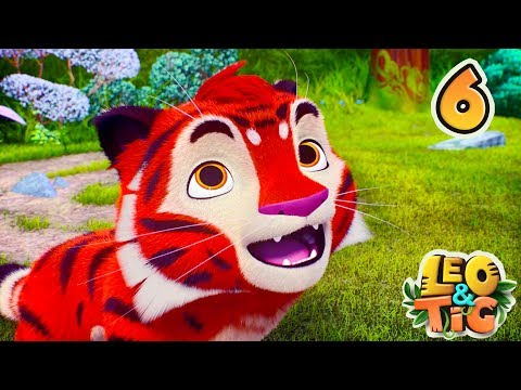 Leo and Tig - Episode 6 - Animated movie for kids - Moolt Kids Toons