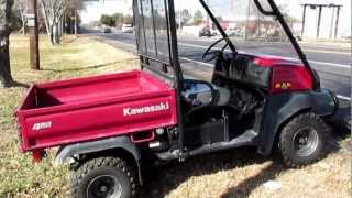 10. One owner Kawasaki Mule for sale in Mansfield Texas, New drive unit, Ready to work