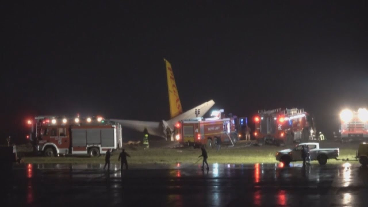 Τουρκία: Αεροπλάνο βγήκε από τον διάδρομο προσγείωσης και παραλίγο να πέσει στη θάλασσα