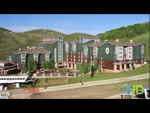 Marriott's MountainSide - Utah, Park City and Snowbird (видео)