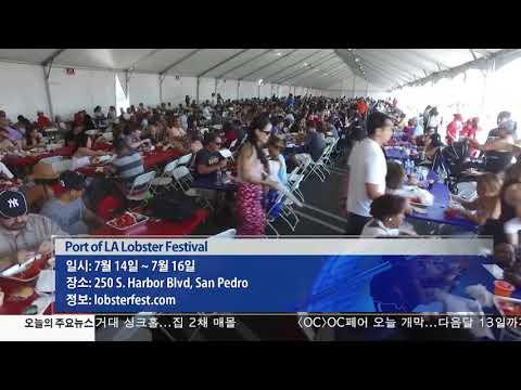 '여름이 즐겁다' 야외 축제 향연 7.14.17 KBS America News