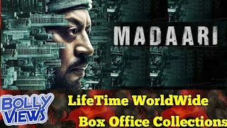 MADAARI 2016 Bollywood Movie LifeTime WorldWide Box Office Collection Verdict Hit or Flop