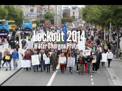 Water Charges Protest Dublin October 2014