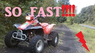 4. 300ex fast riding/topspeed