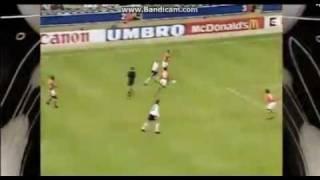 EM 1996: Shearer trifft gegen die Niederlande