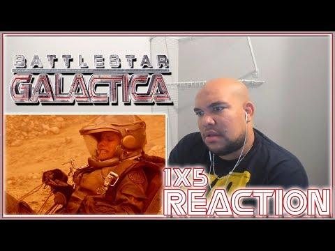 """Battlestar Galactica Reaction Season 1 Episode 5 """"You Can't Go Home Again 1x5 REACTION!!!"""