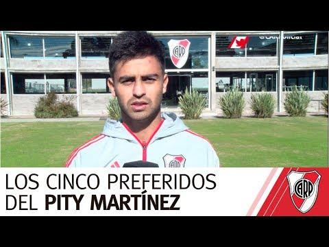 Los cinco del Pity Martínez