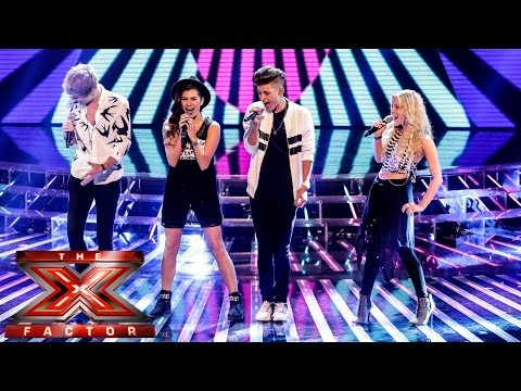 only - Visit the official site: http://itv.com/xfactor Only The Young are singing a medley of Jailhouse Rock and Twist and Shout. But can Betsy Blue, Charlie, Mikey and Parisa work their harmonising...
