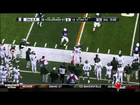 Crockett Gilmore vs Utah St. 2013 video.
