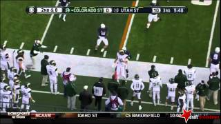 Crockett Gillmore vs Utah State (2013)
