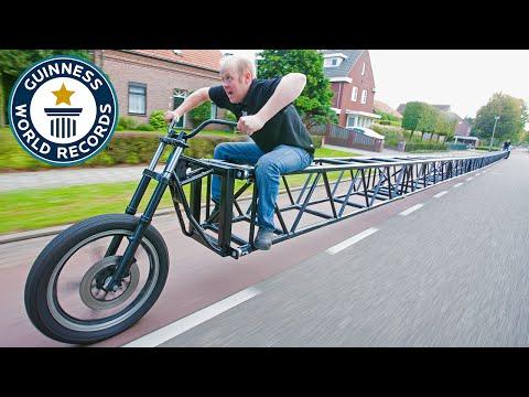 Mají nejdelší kolo a rekord, ale stroj se moc použít nedá!
