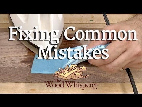 woodworking - Original post on our site with additional information, plans, questions & comments: http://www.thewoodwhisperer.com/videos/fixing-common-woodworking-mistakes...
