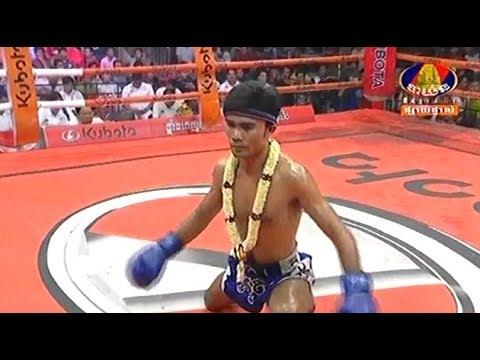 Ouch Thearith vs Thanupetch(laos), Khmer Boxing Bayon 18 May 2018, Kun Khmer vs Muay Thai