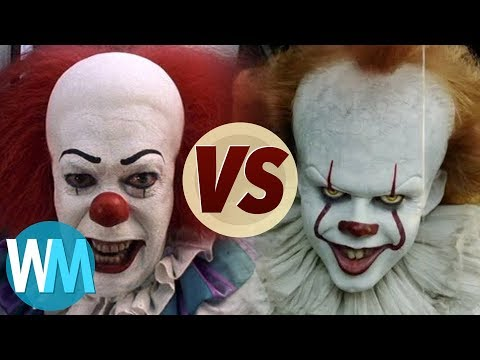 Pennywise: 1990 Vs 2017