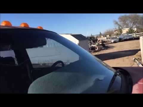 how to remove and install a windshield on a dodge pickup