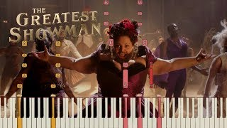 "Video The Greatest Showman - ""This Is Me"" [Piano Tutorial] (Synthesia) MP3, 3GP, MP4, WEBM, AVI, FLV Januari 2018"