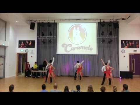 Caramelo Salsa Student Team 24092016 London
