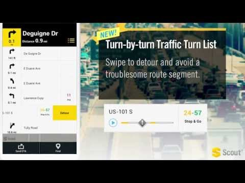 Video of Scout GPS Navigation & Traffic