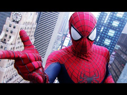 Spider Man - The Amazing Spider-Man 2 in Times Sqaure 2014 clip - Official movie trailer sizzle in full hd 1080p - starring Andrew Garfield, Emma Stone and Jamie Foxx as ...