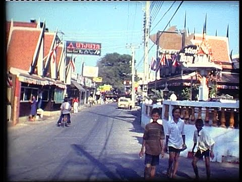 Thailand, Pattaya attractions in 1979